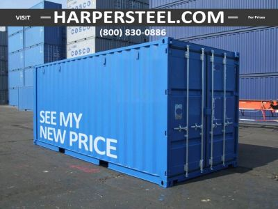 Indianapolis Local Steel Shipping Containers - Largest Selection W/Delivery Options!