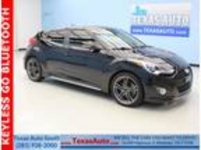 2013 Hyundai Veloster Turbo w/Blue