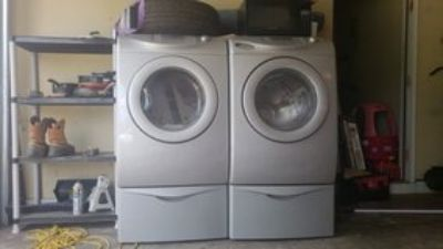 washer and dryer works good maytag