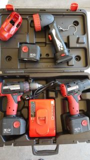 Snap on cordless tools.