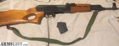 For Sale: MAK90 Poly-Tech 7.62X39 1 mag and silng