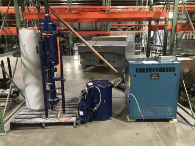 Brewery Low Pressure Steam Boiler System RTR# 9051700-01