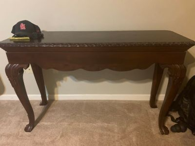 Sofa table, 2 end tables, and a coffee table