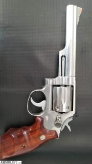 "For Sale: Smith and Wesson 66 No Dash 6"" 357 Magnum Pinned and Recessed"