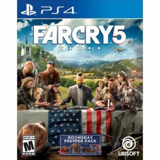Far Cry 5 for Playstation 4 - like new $30 or trade for other game
