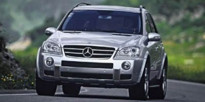 2007 Mercedes-Benz M-Class ML350 (White)