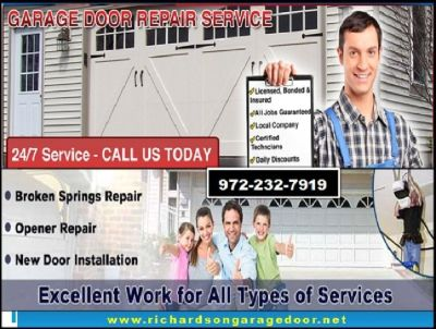 24/7 Garage Door Opener Repair (Richardson Dallas) 75081 TX