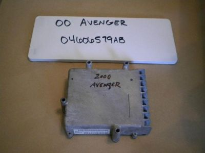 Buy 00 DODGE AVENGER TCM TCU TRANSMISSION COMPUTER CONTROL MODULE UNIT 04606579AB motorcycle in Orem, Utah, US, for US $16.00