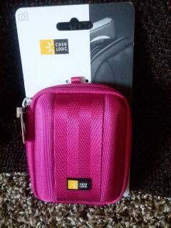 Berry Pink Electronics Carrying Case