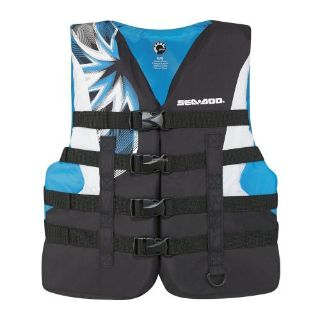 Sell Sea-Doo Ladies' Nylon Motion PFD -Life Jacket Vest - Blue motorcycle in Sauk Centre, Minnesota, United States, for US $54.99