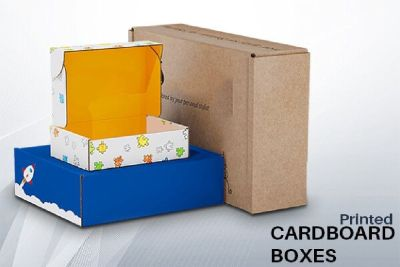Custom cardboard boxes with full color printing add color and glamour to packaging: