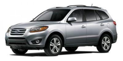 2012 Hyundai Santa Fe GLS (Glacier White)