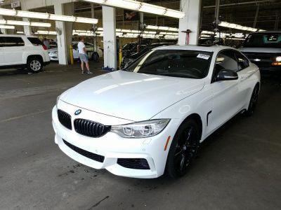 2015 BMW 4 Series 2dr Cpe 435i xDrive AWD (Alpine White)