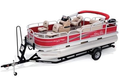 2017 Sun Tracker Bass Buggy 18 DLX Pontoon Boats Boats Gaylord, MI
