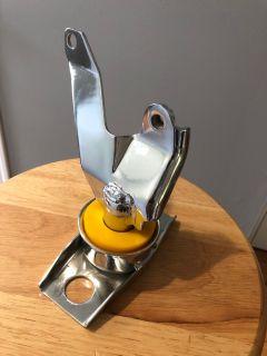 FS: Triple chrome front motor mount w/ BFI insert *brand new*
