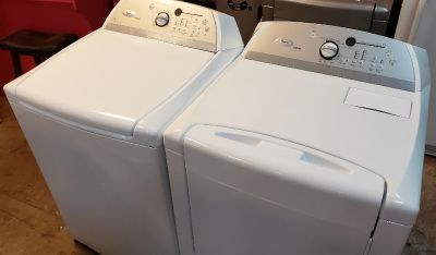 WASHER AND DRYER WHIRPOOL CABRIO ELECTRIC