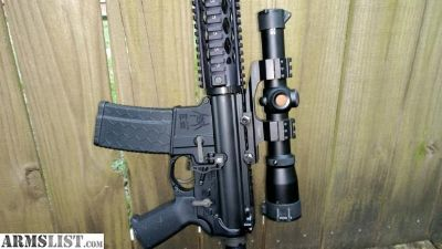 For Sale/Trade: High-End Quality Built 223/556 NATO AR15 with Burris Scope, Case & 3 each 30-Round Magazines