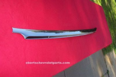 Find 1960 Chevrolet Impala 2 dr Hardtop Lower Center Rear Window Molding *Restored* motorcycle in Wisconsin Rapids, Wisconsin, United States, for US $325.00