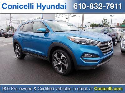 2016 Hyundai Tucson Sport (Caribbean Blue)
