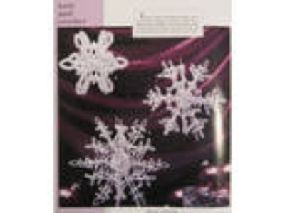 Snowflake Ornaments crochet pattern from magazine