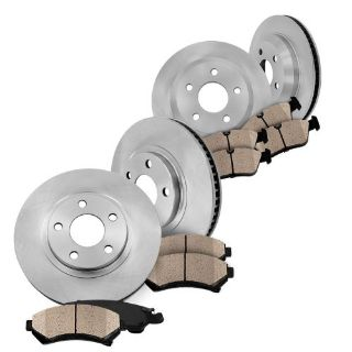 Purchase Front and Rear Brake Rotors & Ceramic Pads Kit CAPRICE 2011 2012 2013 PPV SEDAN motorcycle in Orland Park, Illinois, United States, for US $155.96