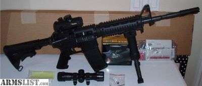 For Sale: COLT QUAD AR-15 W/SCOPE 223 556 AR15 UPPER LOWER