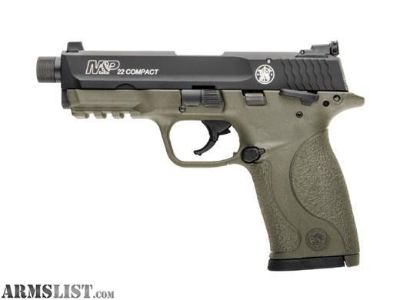 For Sale: Smith & Wesson M&P 22 Compact Semi-automatic - FDE - New In Box - S&W:10242