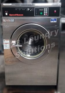 Fair Condition Speed Queen OPL Front Load Washer 200-240v 1/3Ph 40lbs SC40ANVXU6001 Used
