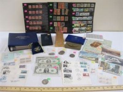 May Stamps, Coins, and Ephemera
