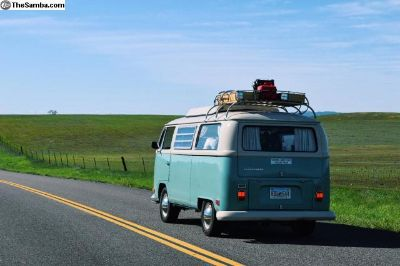 VW bus/camper 1970 Turquoise