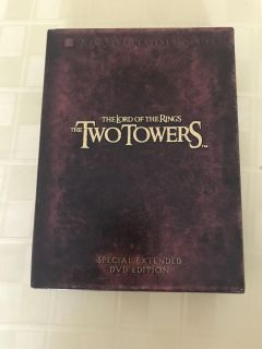 The Lord of the Rings the Two Twin Towers special Extended DVD Edition