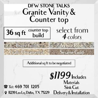 Dfw stone talks