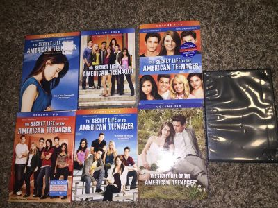 The Secret Life is the American Teenager All 7 Seasons DVDs