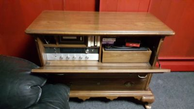 Stereo- 8 track player-record player