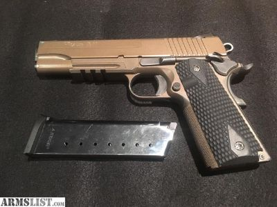 For Sale/Trade: Sig Sauer 1911 Scorpion