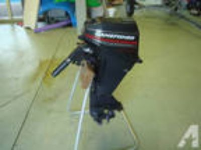 15HP Tiller & Jet Ski/ small boat trailer -
