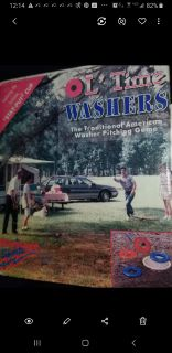 """Outdoor Family Game. NIB. VINTAGE """"Old Time Washer Toss"""""""
