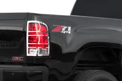 Sell SES Trims TI-TL-141 GMC Sierra Taillight Bezels Covers Chrome Ring Trim ABS motorcycle in Bowie, Maryland, US, for US $78.00