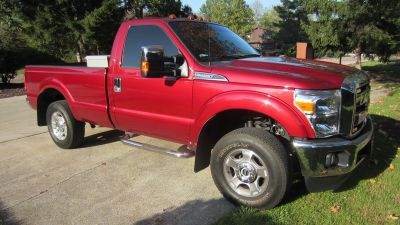 2016 Ford F-250 Super Duty,standard cab deluxe