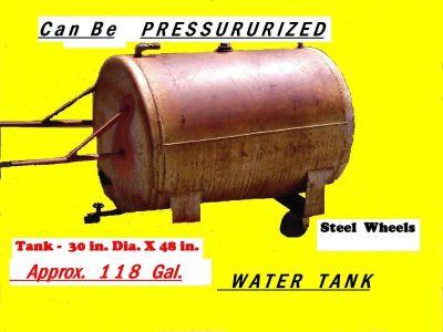 Water TANK___Semi Portable___118 Gal.