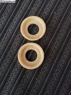 Door handle collars pair