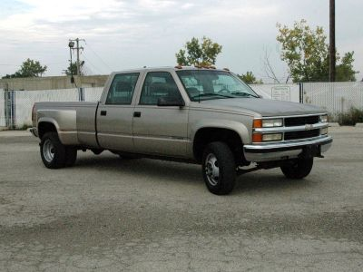 2000 Chevrolet Silverado 3500 4x4 Crew Cab Dually Low Miles! Excellent Condition! ALL NEW TIRES!!