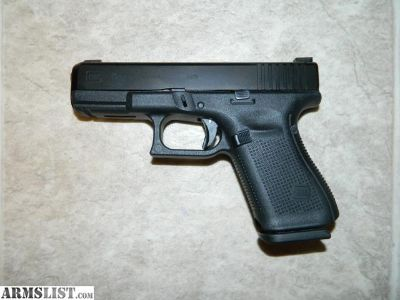 For Sale: Glock 19 Gen 5 FBI Sights