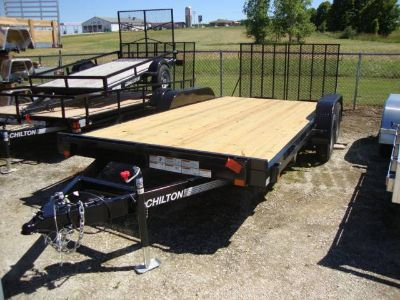 2017 Chilton TT8470-17E Equipment Trailer Trailers Francis Creek, WI
