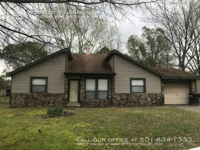 181 Meadowick Dr., Jacksonville AR 72076 - Nice and affordable 3br 2ba 5 minutes from LRAFB