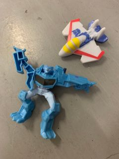 Set of 2 Transformer Kids Meal Toys