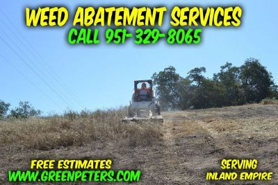 Weed Abatement Services Rancho Cucamonga