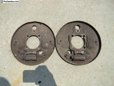 Volkswagen Beetle Early Backing Plates