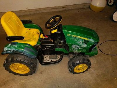 Power Wheels Peg Perego John Deere Tractor 12v