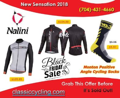 Black Friday 2018 – Exclusive Sale on Men's Winter Collection at Classiccycling.com